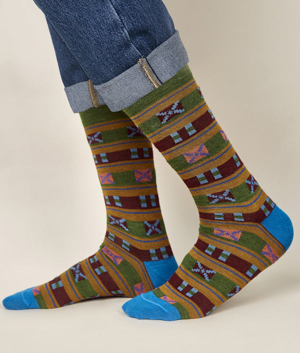 Crossed Men's Socks C002
