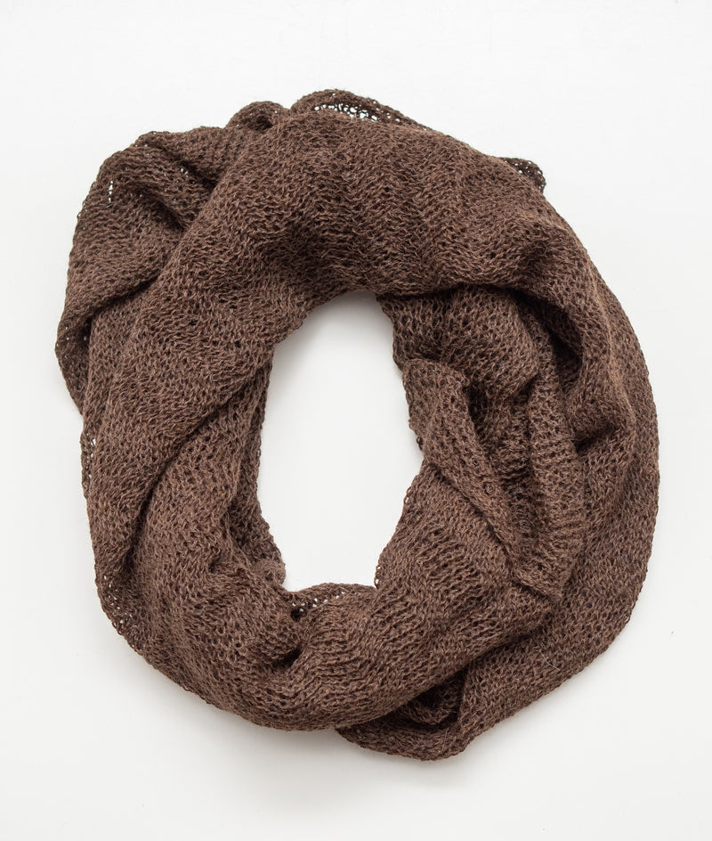Infinity Scarf Chocolate