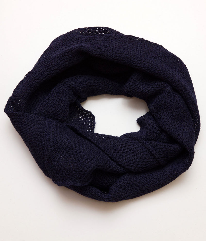 Infinity Scarf Navy Blue