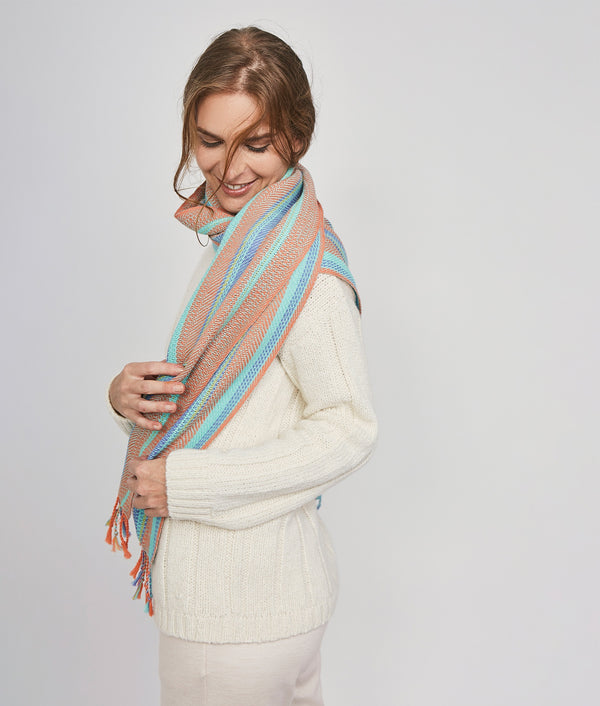 Broken Stripes Scarf C001