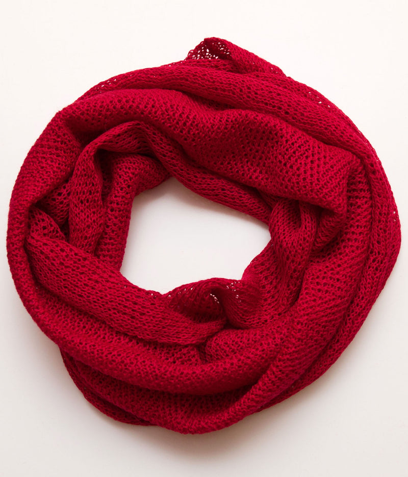 Infinity Scarf Red