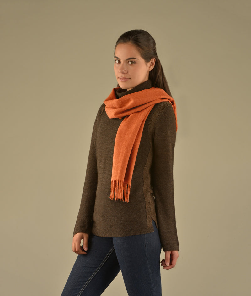 Brushed scarf AM12948