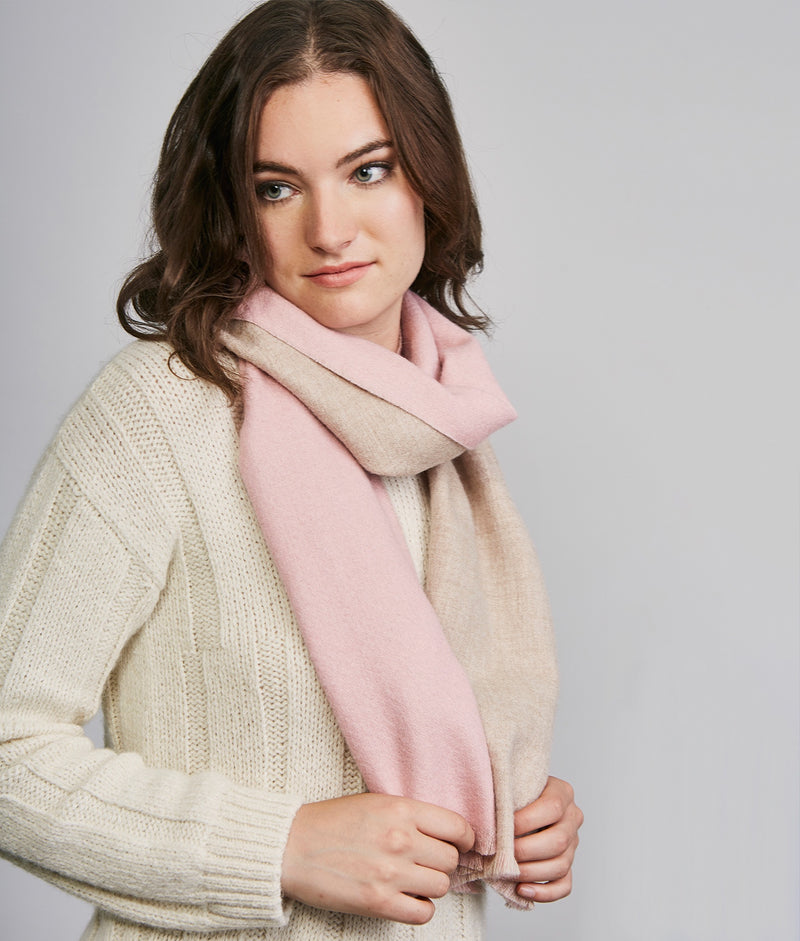 Double face scarf 1074-02 C006