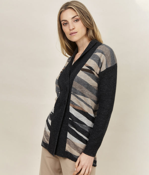 Crossings Long Cardigan C001