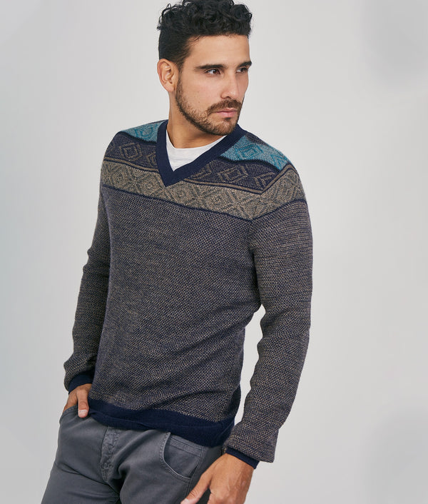 Crowd High Vee Ncek Pullover C003