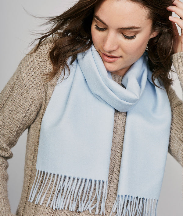 Long brushed scarf AZ14621