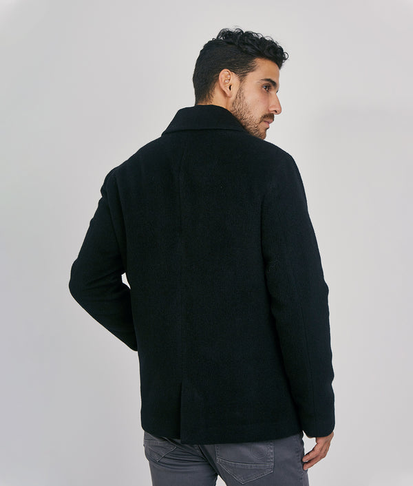 Mens short peacock jacket 500