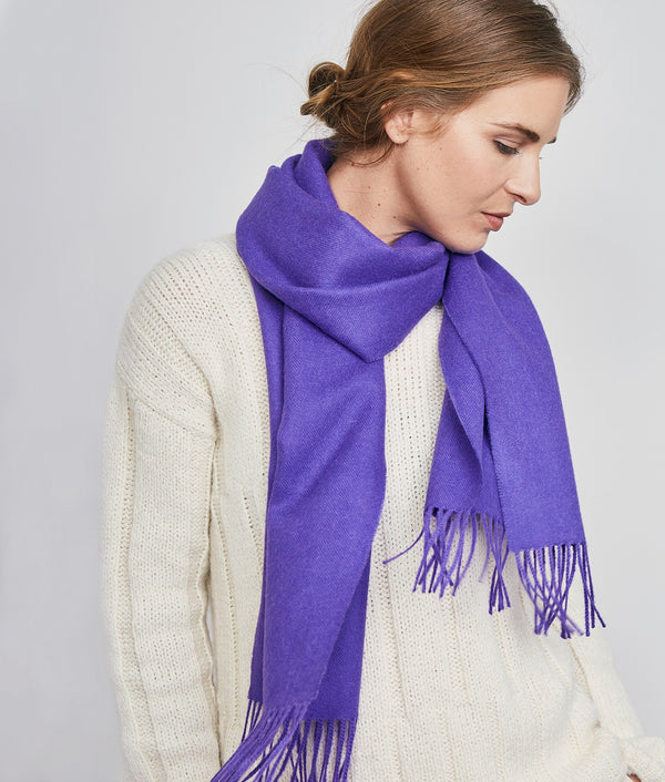 Long brushed scarf AZ14619