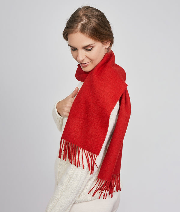 Brushed scarf M3998