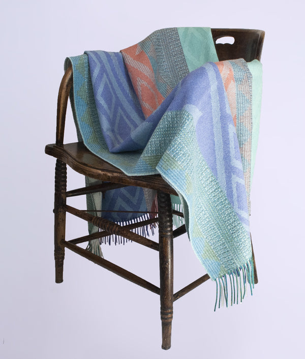 Coloured monts throw 40105-03 C002