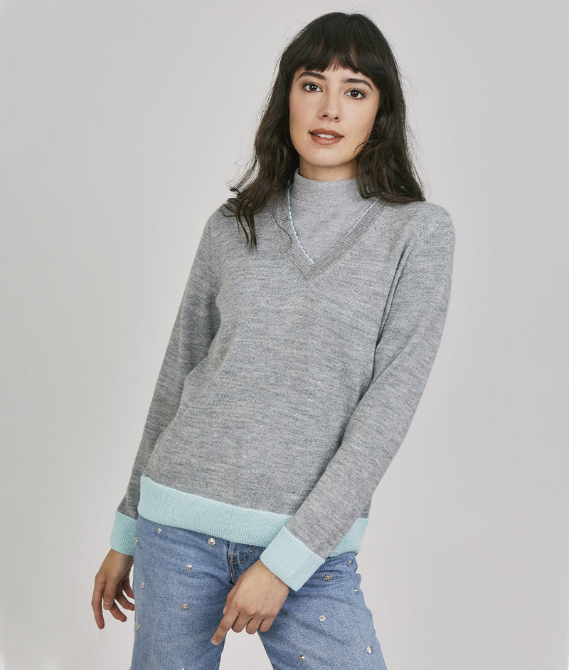 Jersey Nine To Five Pullover C003