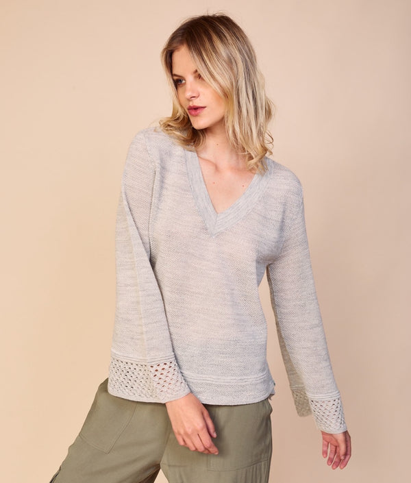 Going Basic V Neck Pullover C003