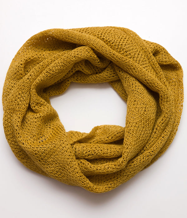 Infinity Scarf Mustard