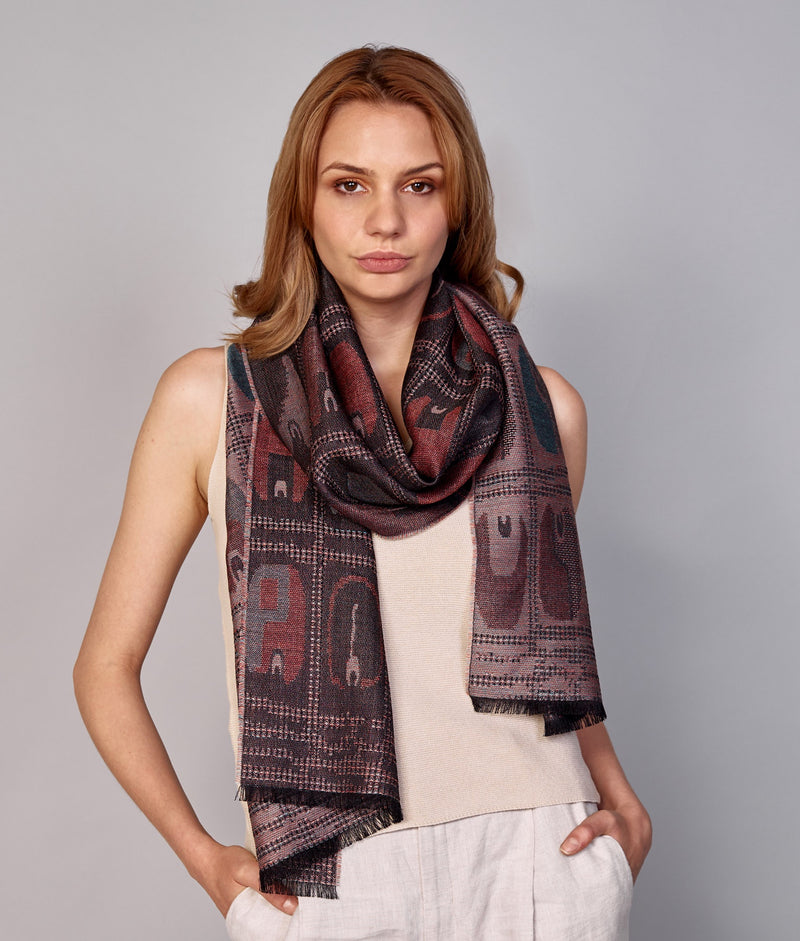 Transition Paracas-Nazca Scarf C002