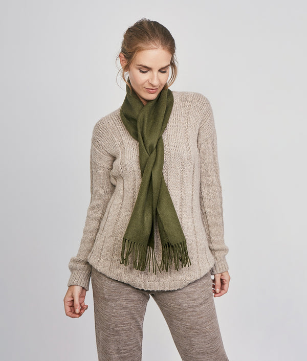 Brushed scarf VR14607