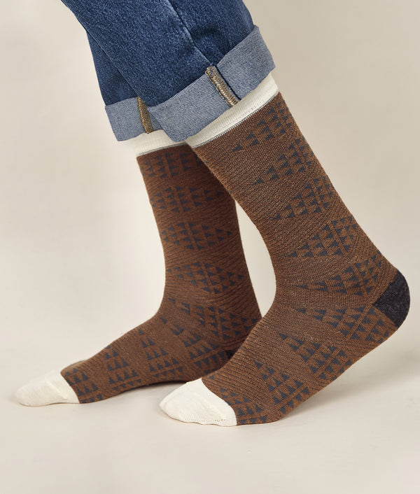 Diamonds Men's Socks C001
