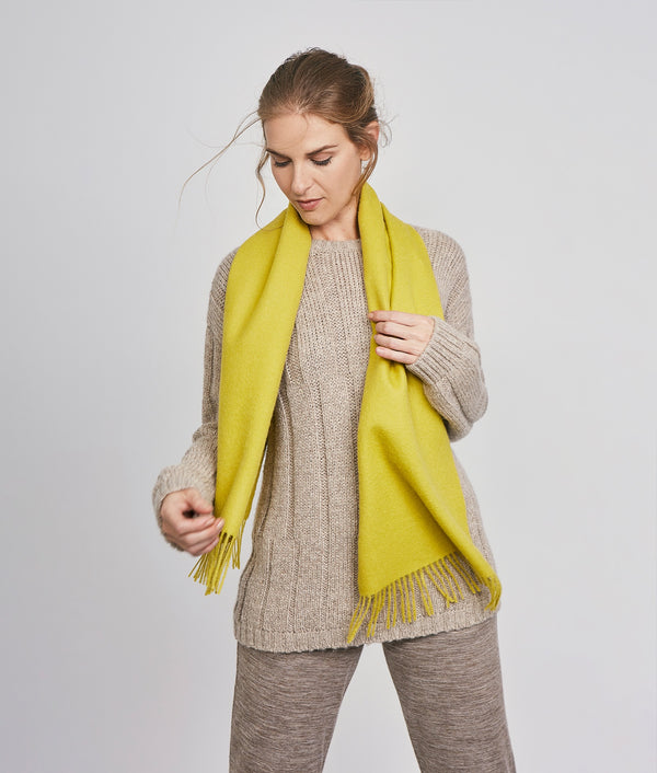 Brushed scarf AM14610