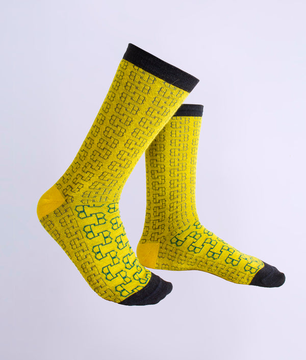 The loose eyelet ladies socks C001