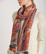 Surrounded scarf 14903 - C001