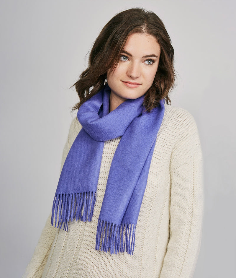 Long brushed scarf AZ14617