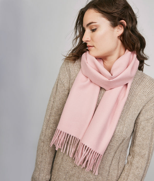 Long brushed scarf RJ14611