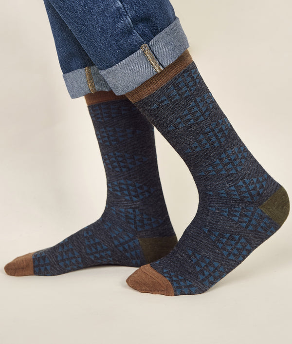 Diamonds Men's Socks C007