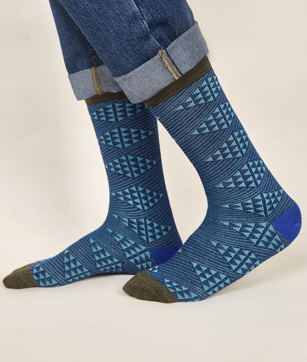 Diamonds Men's Socks C002