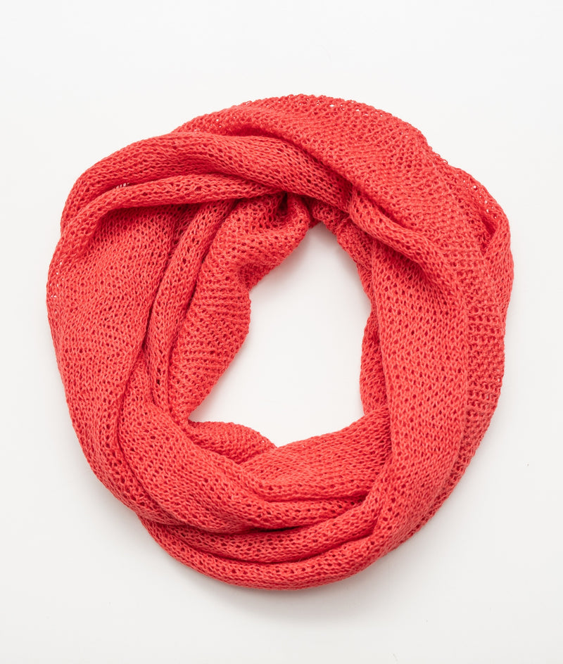 Infinity Scarf Salmon Orange