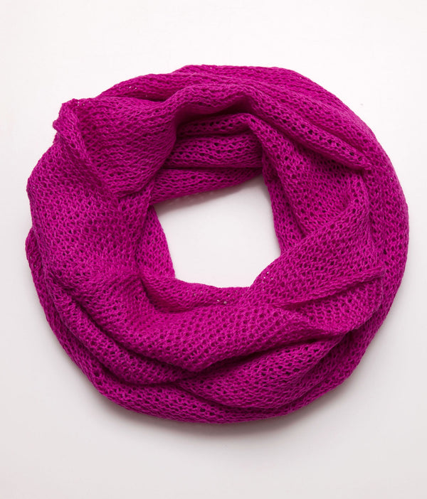 Infinity Scarf Cerise Pink
