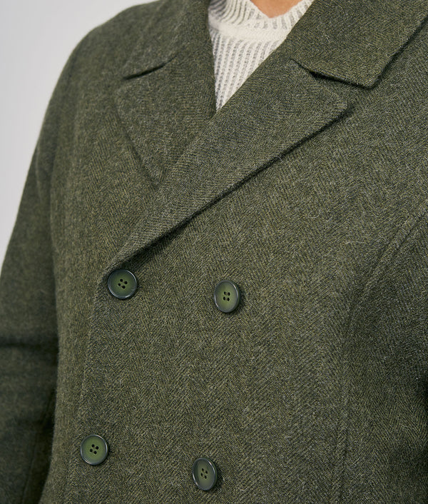 Mens Short Peacock Jacket C001