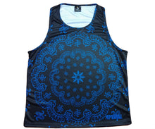Load image into Gallery viewer, Bandana tank (ryl, blk)