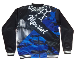 Geocamo (blue) Jacket