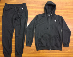 Mperial Jogger and Hoodie set (black)