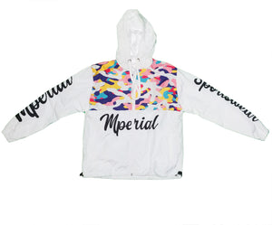 Color Camo Windbreaker