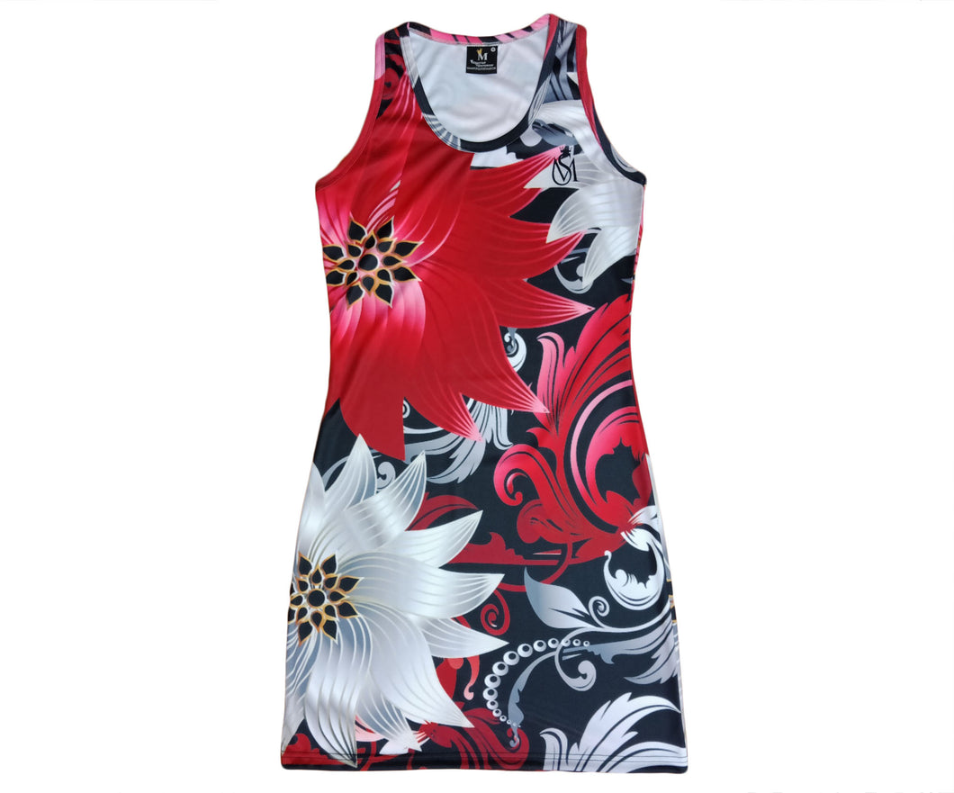 Steel Flowers Dress