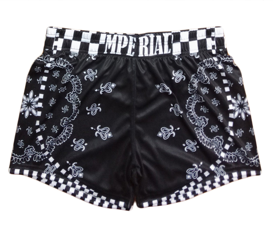 Mperial Bandana Ladies Shorts (black)
