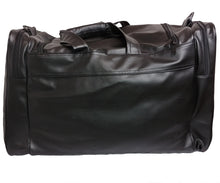 Load image into Gallery viewer, Mperial Leather Embroidered Duffle Bag (black)