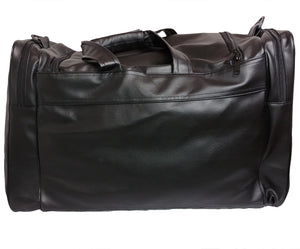 Mperial Leather Embroidered Duffle Bag (black)