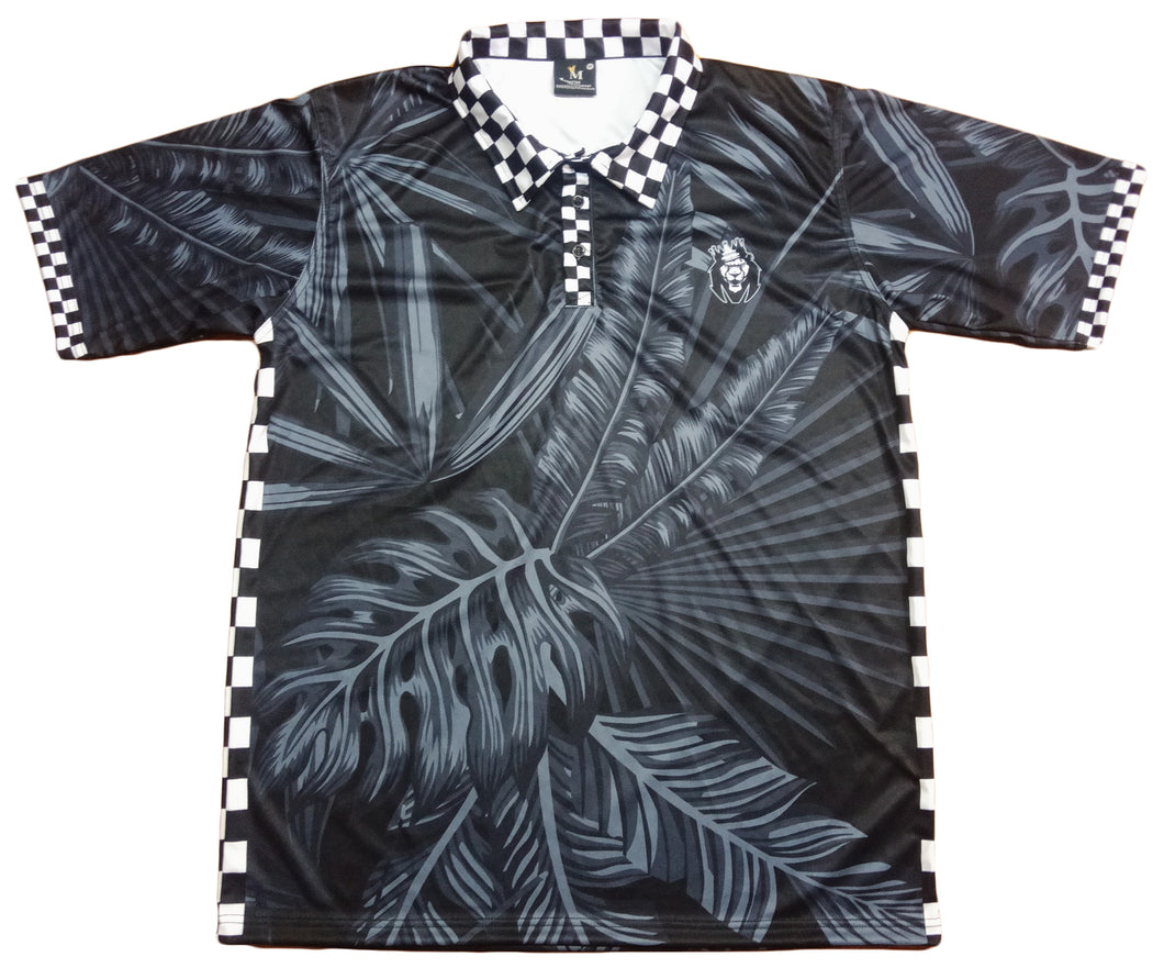 Mperial Black Tropical Polo
