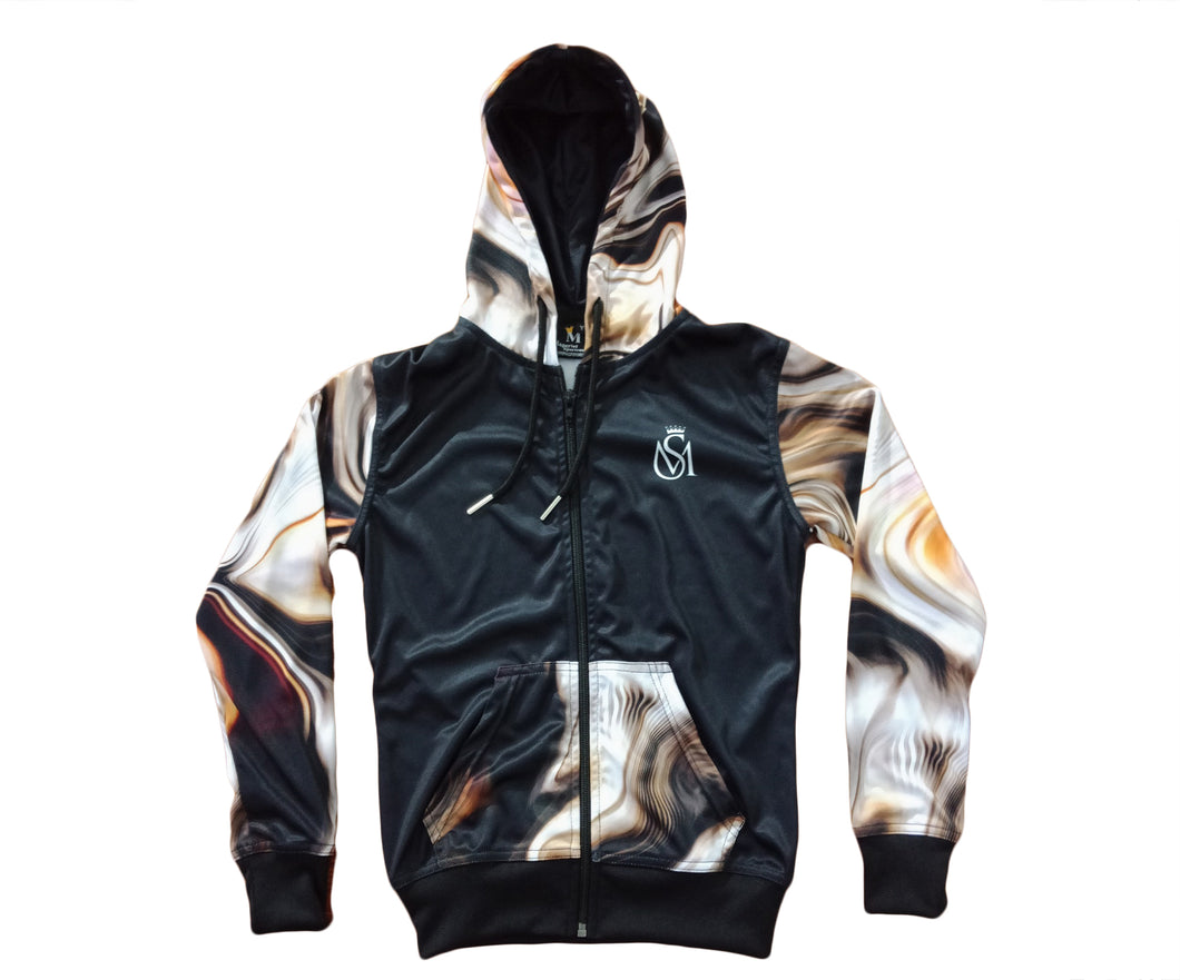 Brown Abstract Jacket