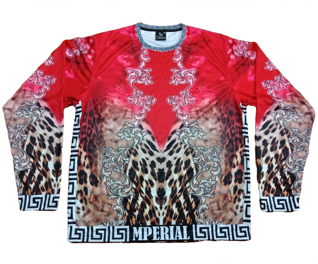 Designer Leopard Full Sleeve Shirt