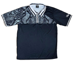 High Class Collection Grey Snakeskin Polo
