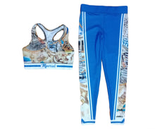 Load image into Gallery viewer, High Class Collection Abstract Leggings & Bra