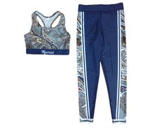 Load image into Gallery viewer, High Class Collection Paisley Leggings & Bra