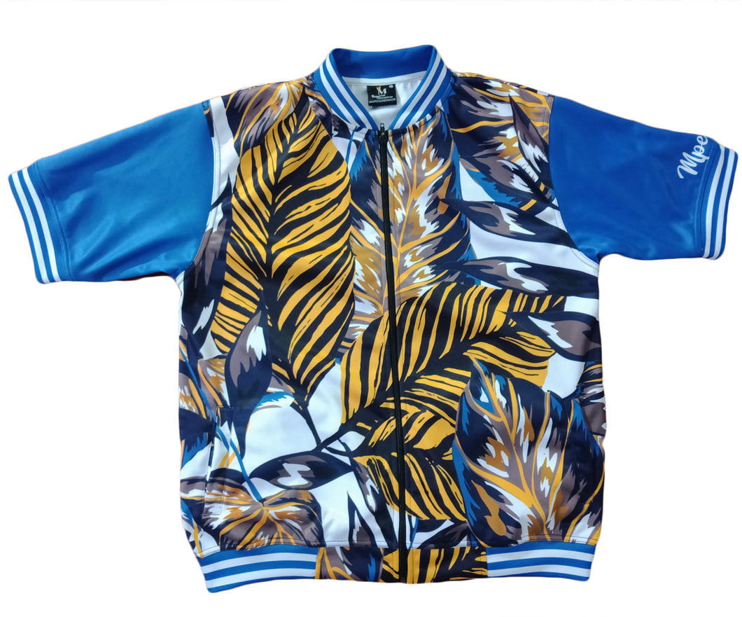 High Class Collection Tropics Short Sleeve Jacket*