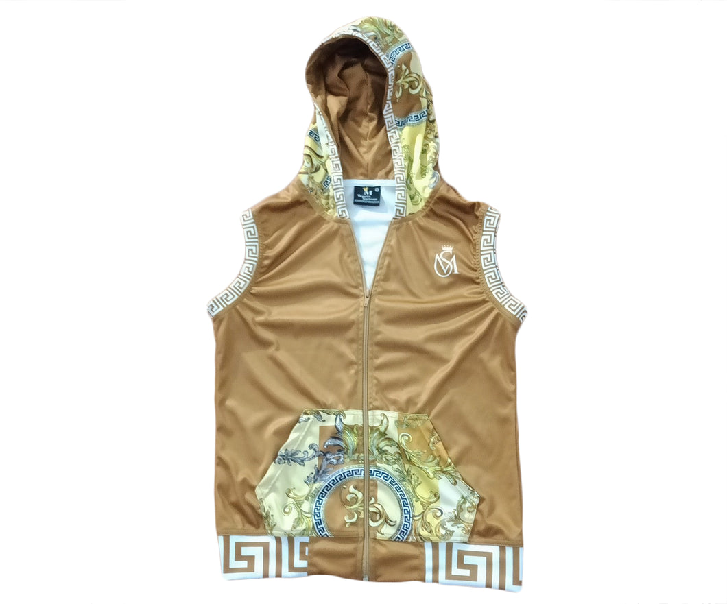 High Class Collection 4 Sleeveless Zip Up Hoodie