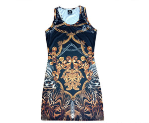 Leopard Luxury Dress