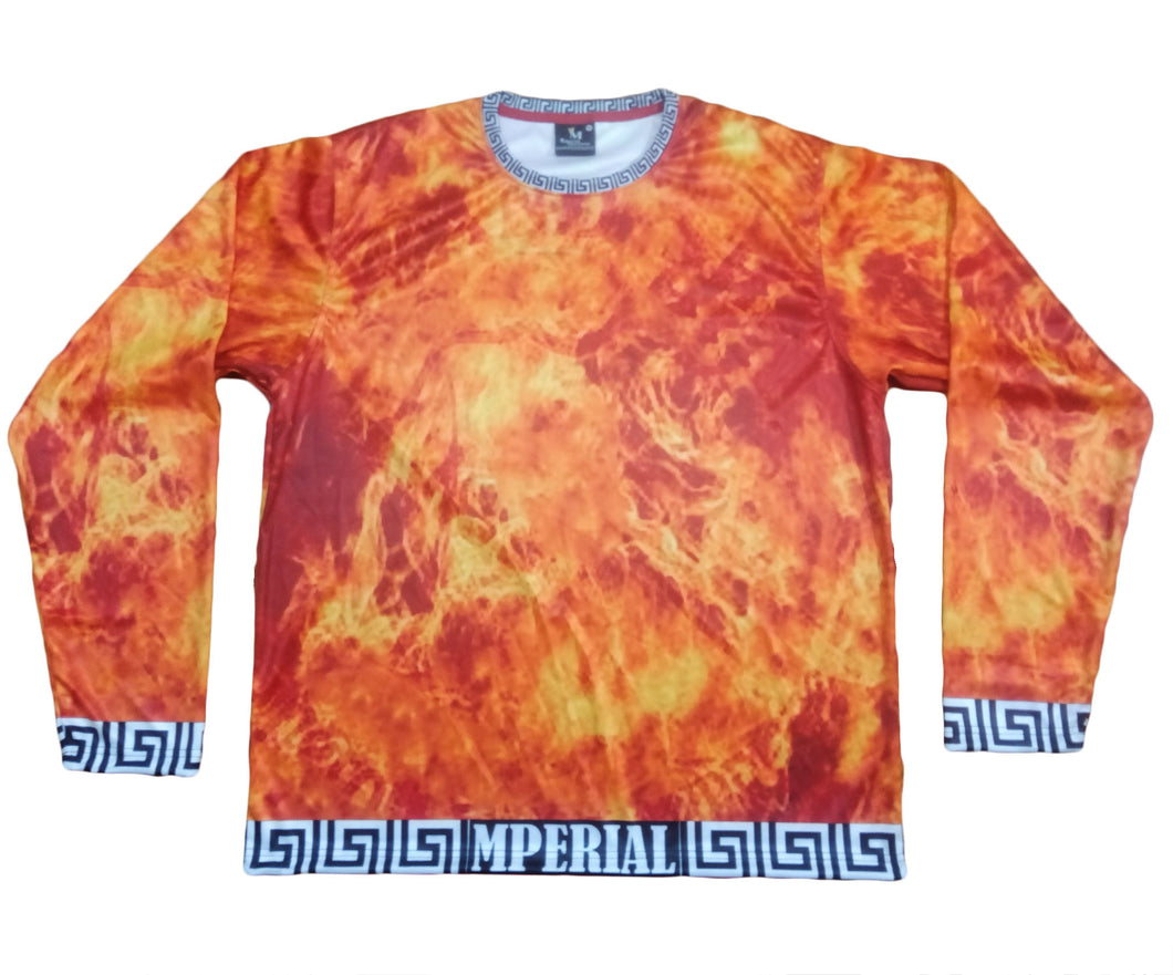 Mperial Flames Full Sleeve Shirt