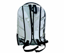 Load image into Gallery viewer, Mperial Liquid Chrome Leather Backpack