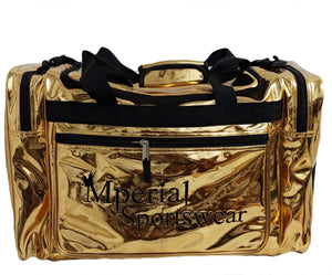 Mperial Gold Leather Duffle Bag (Carry-on size)